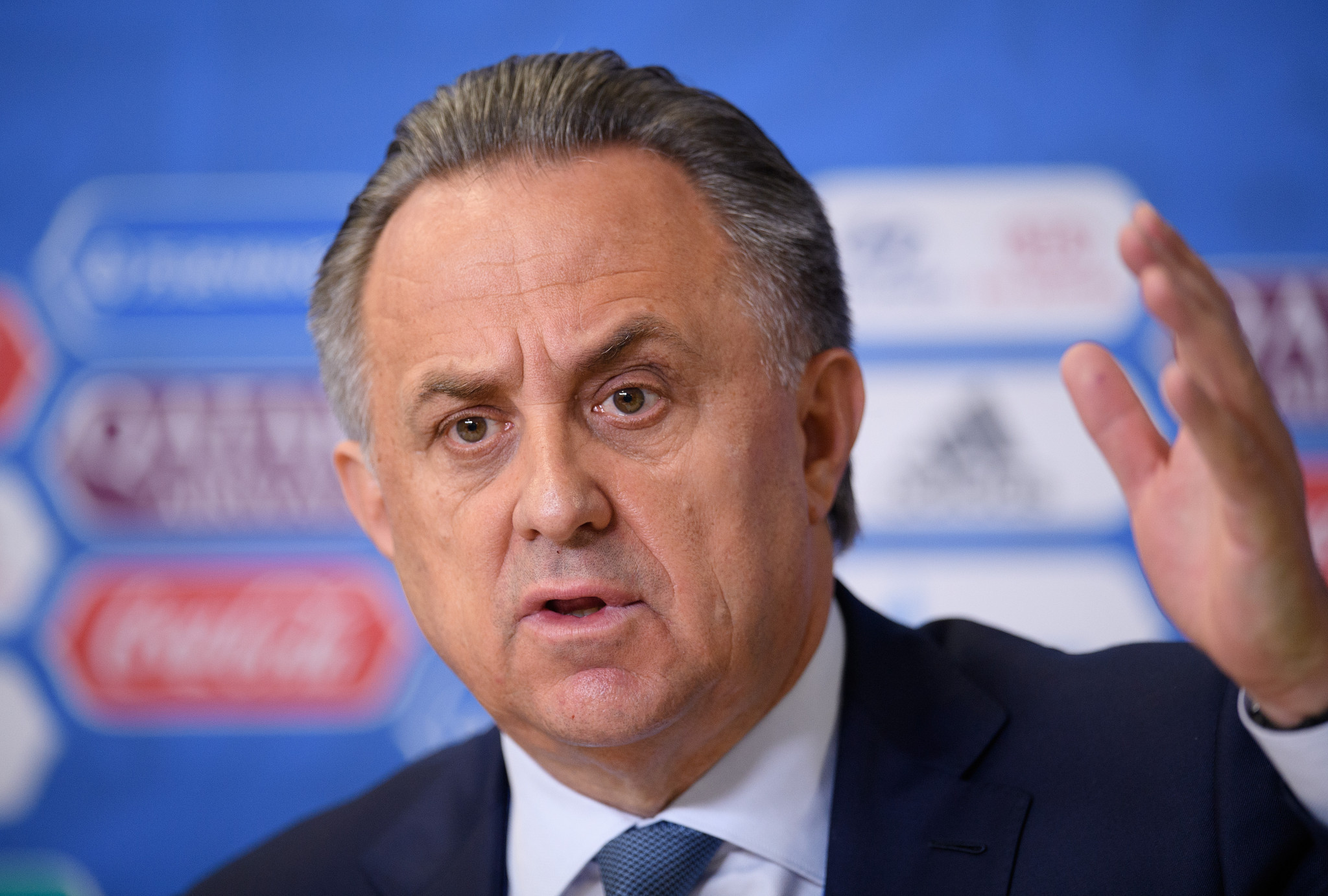 Vitaly Mutko was banned for life by the IOC last year ©Getty Images