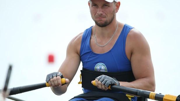 Roman Polianskyi led the Ukrainian success in the Paralympic events in Belgrade ©World Rowing
