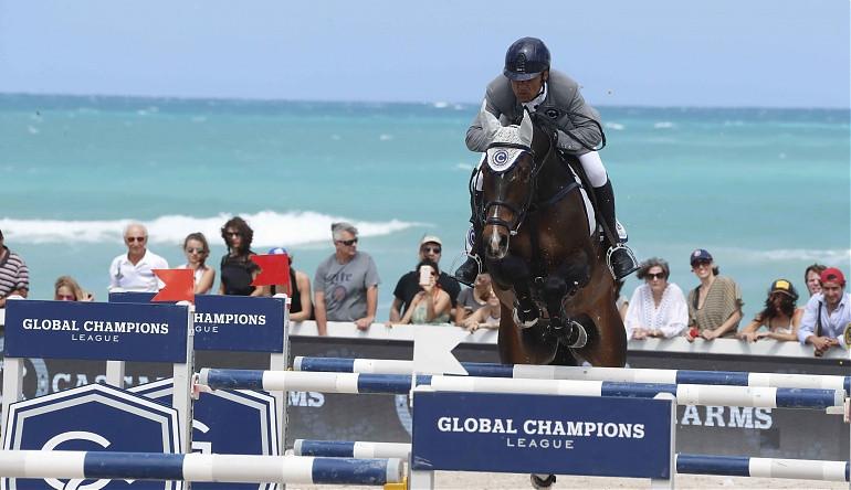 Lopez wins latest leg of Longines Global Champions Tour in Saint-Tropez