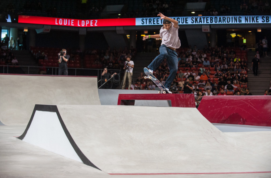 An education programme, conducted by World Skate in conjunction with UK Anti-Doping, was held for athletes at last weekend's Street League Skateboarding event in London ©UKAD