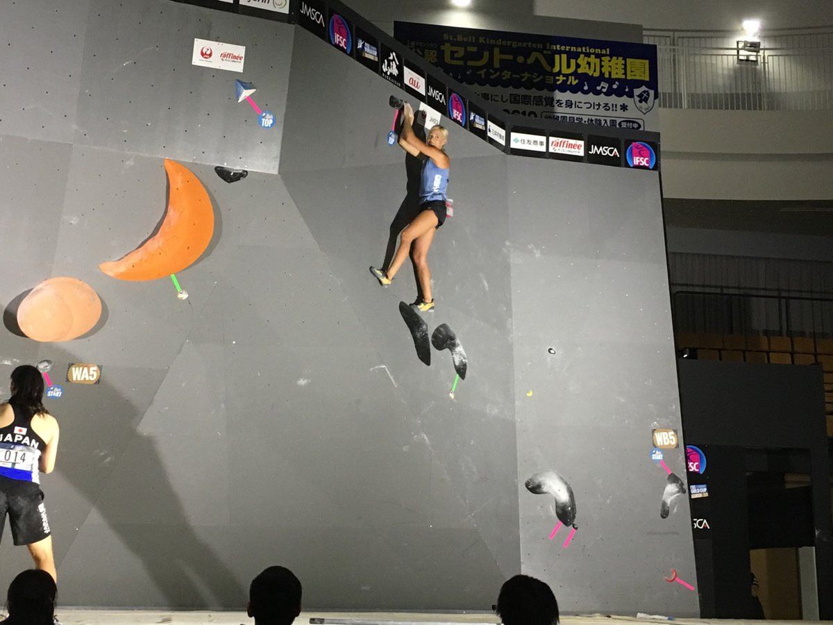 Women's qualification also took place today ©IFSC/Twitter