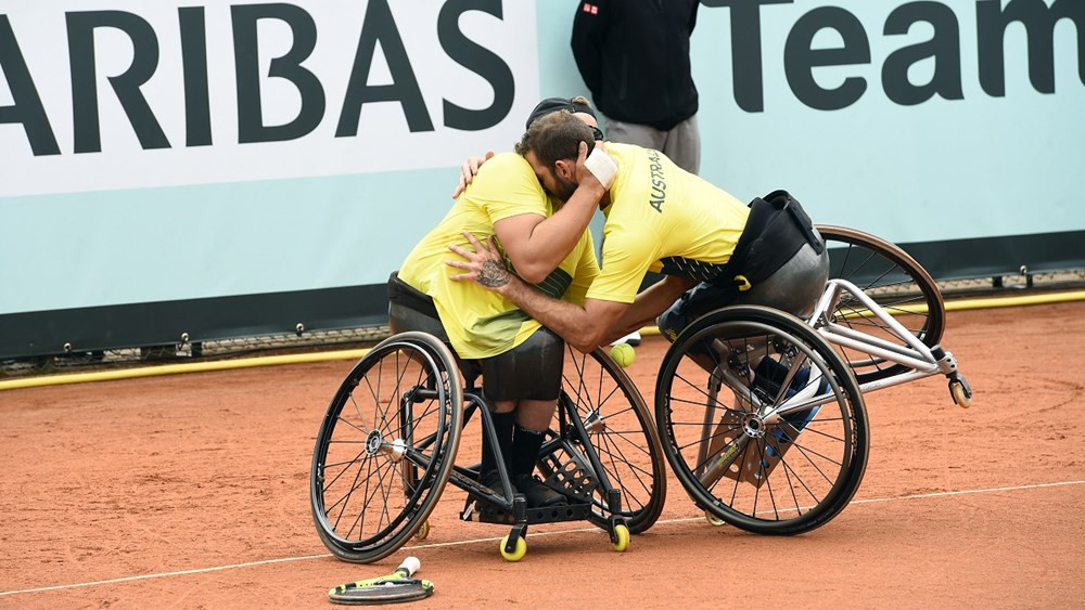 Australia secure quad title with victory over Israel at Wheelchair Tennis World Team Cup