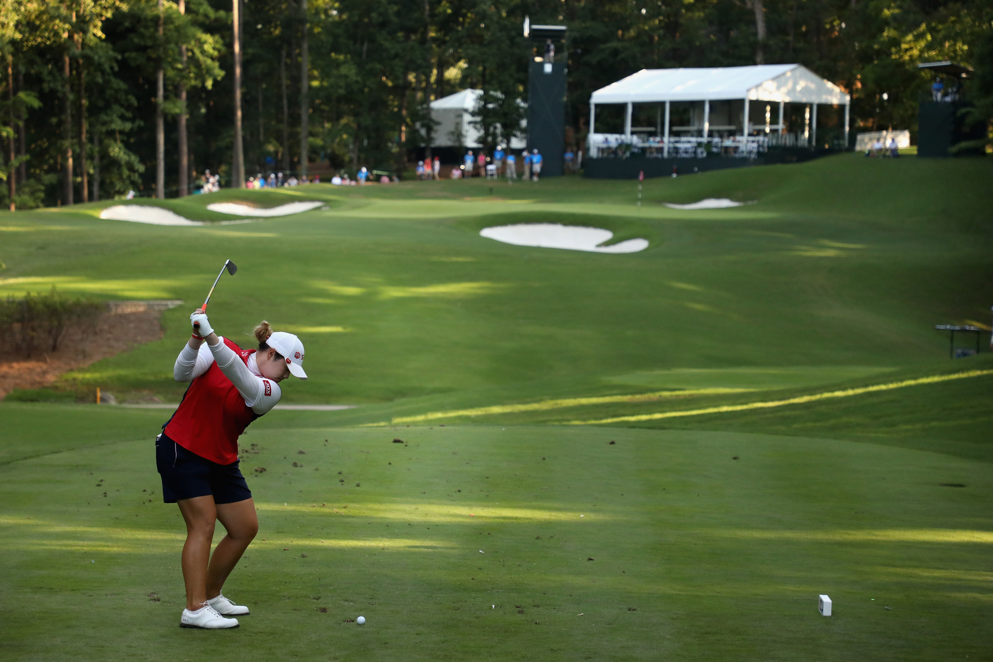 Jutanugarn dazzles to take US Women's Open lead