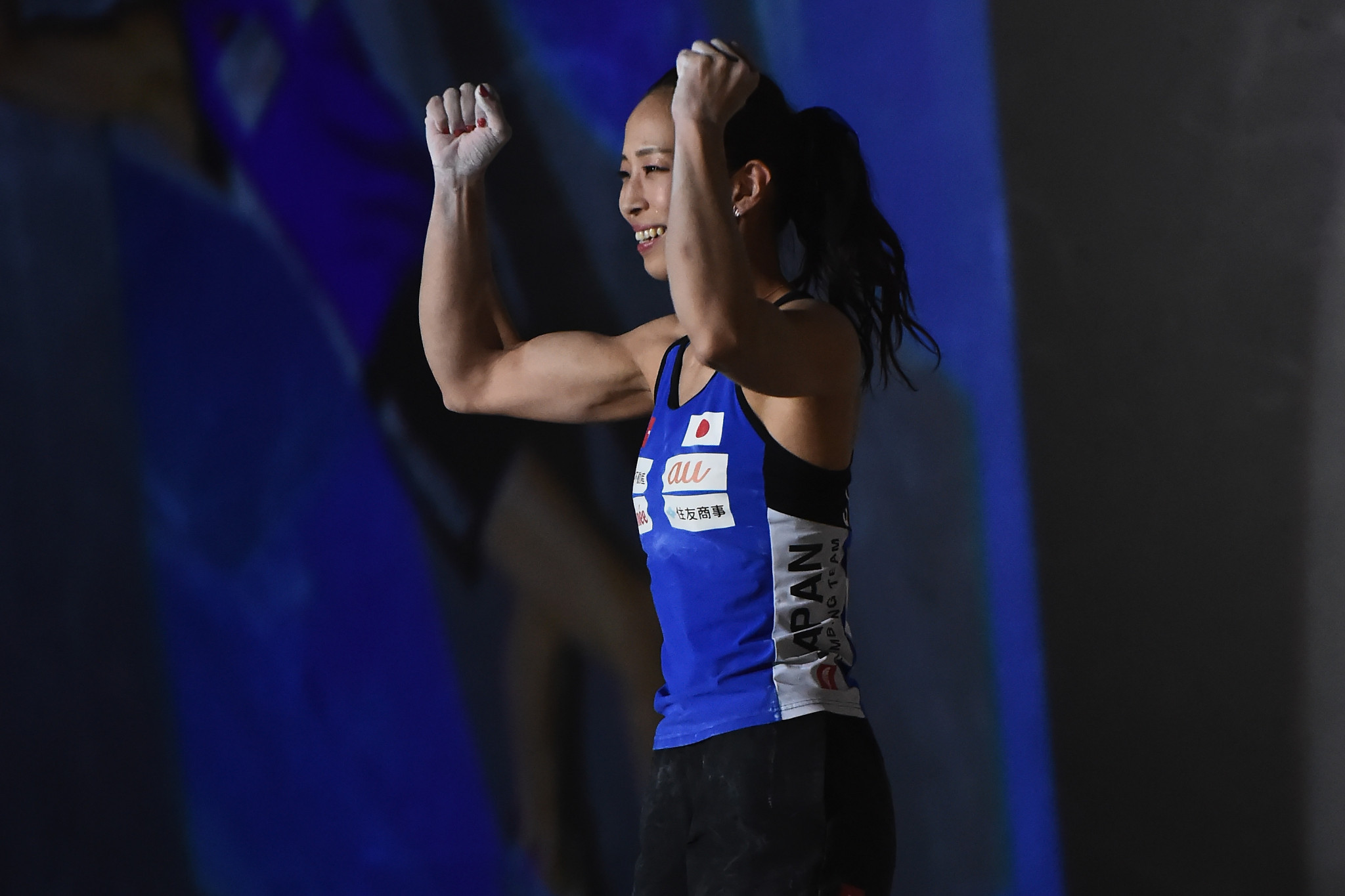 Hosts secure one-two in women's bouldering on final day of IFSC Climbing World Cup in Hachioji