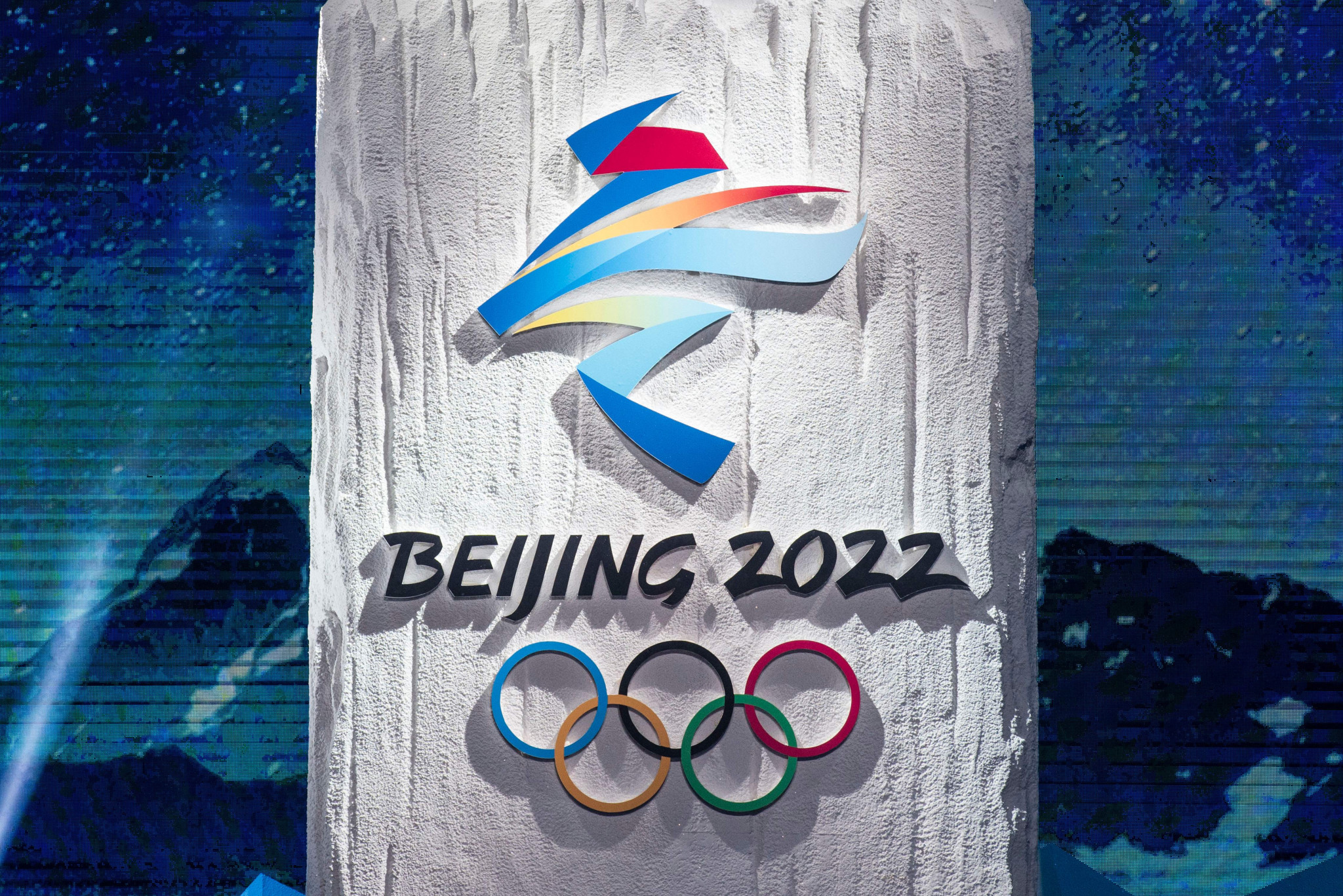 The Beijing 2022 logos were unveiled in December 2017 ©Getty Images