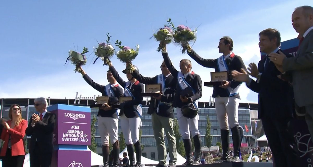 France claim perfect victory at FEI Nations Cup in St Gallen