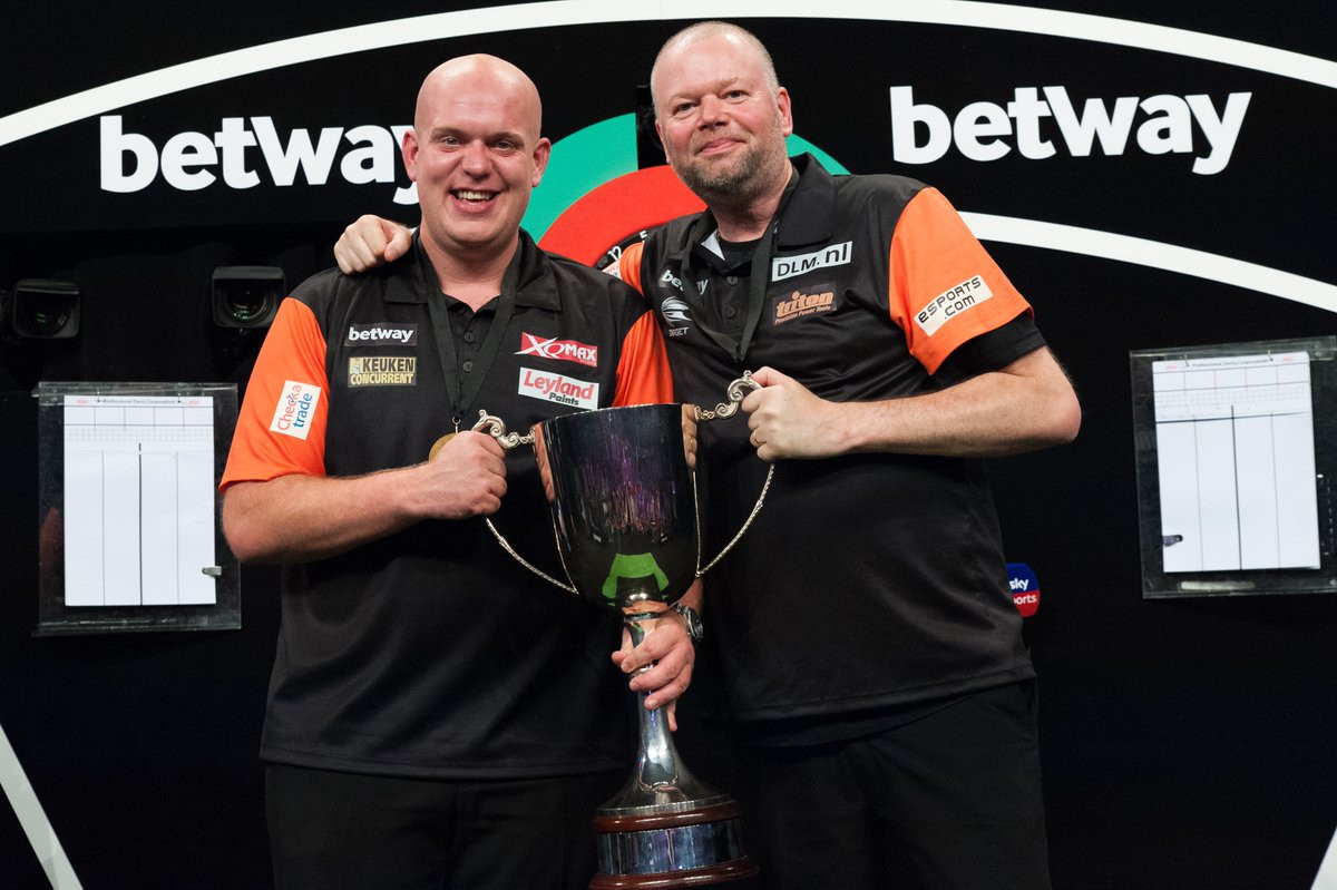 The Dutch retained their World Cup of Darts title in Frankfurt ©PDC Darts/Twitter