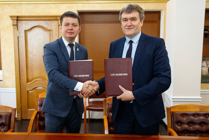Krasnoyarsk 2019 and Siberian Federal University sign agreement on Athletes' Village