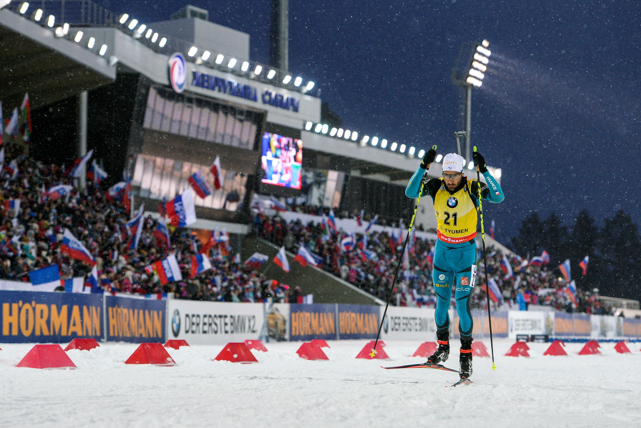 Tyumen played host to the World Cup final in March of this year ©Getty Images