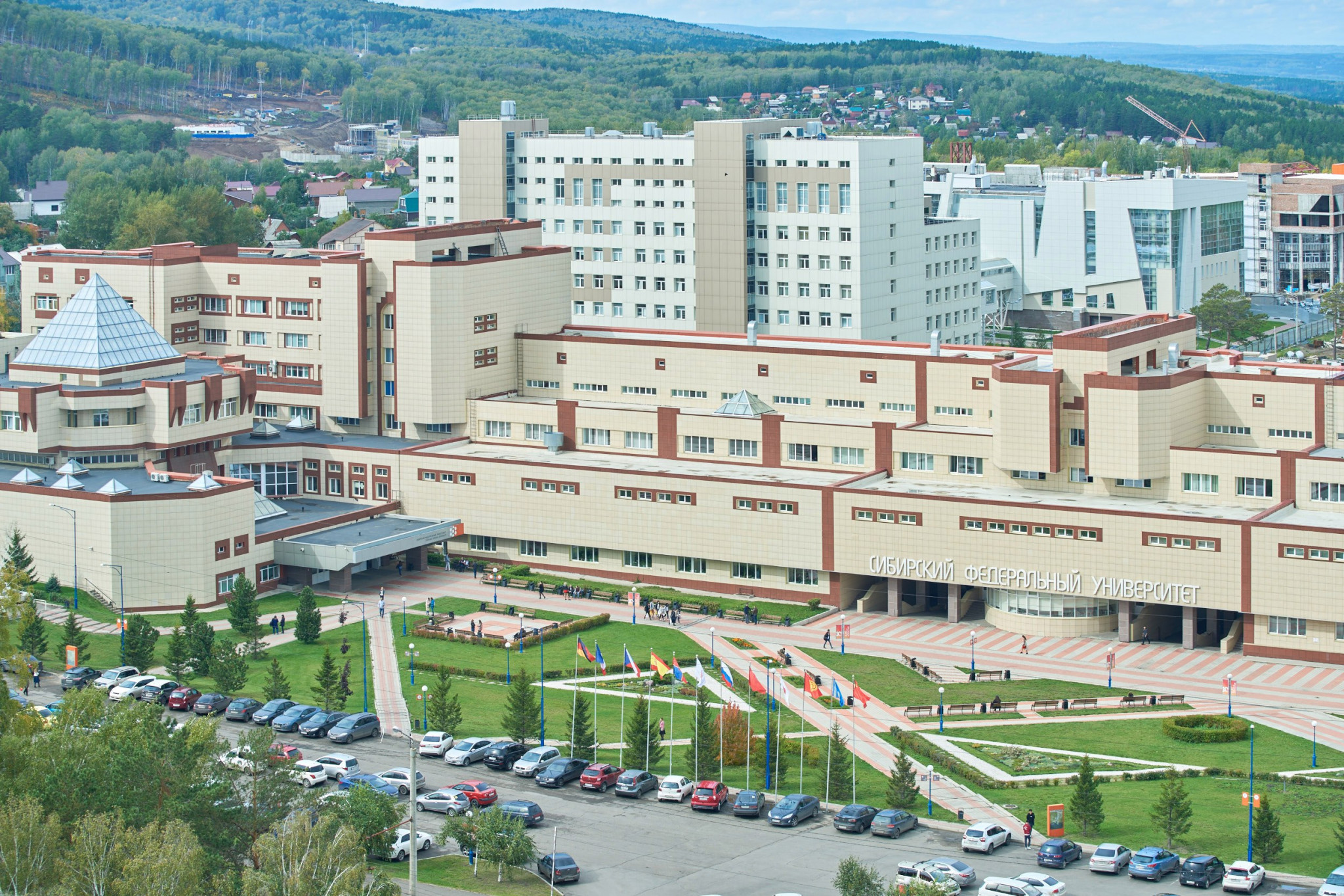 The Siberian Federal University will be the Athletes' Village at Krasnoyarsk 2019 ©Krasnoyarsk 2019