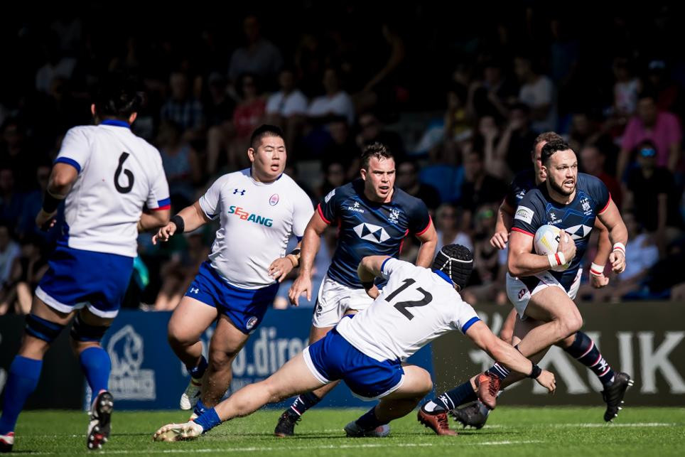 Hong Kong beat South Korea 39-5 in the Asia Rugby Championship final ©World Rugby