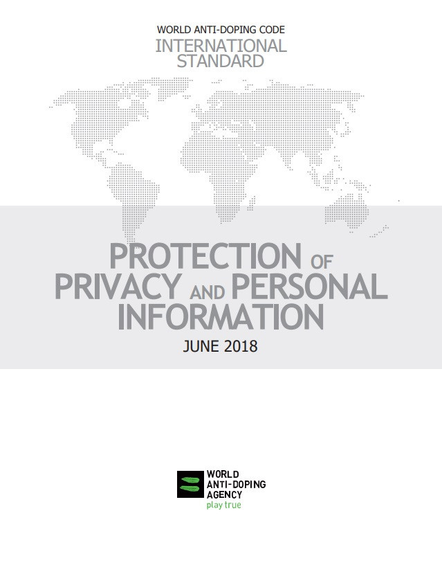The document aims to ensure athletes' data and corresponding rights are protected ©WADA