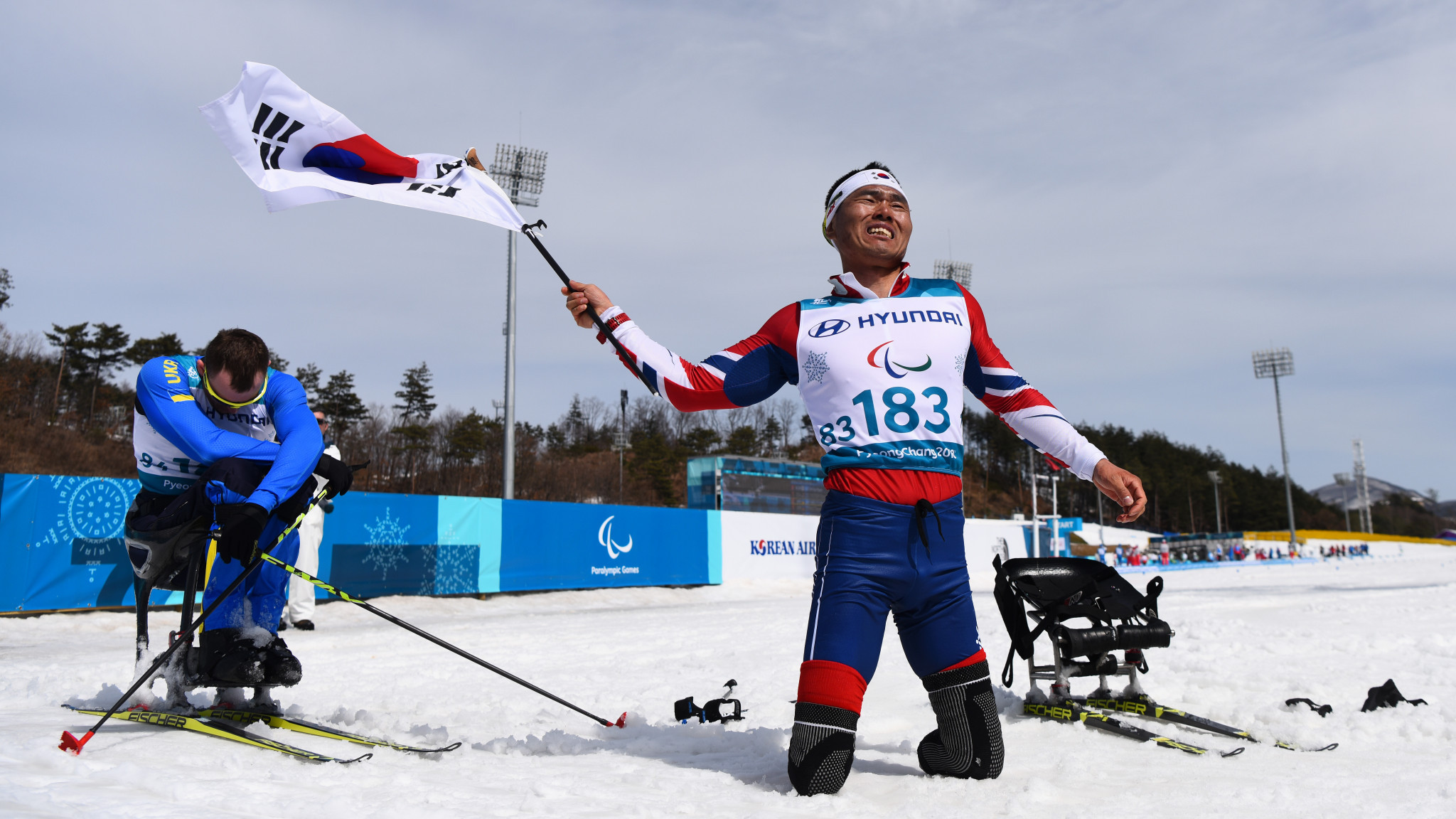 Hosts South Korea were among the countries to win a first-ever Winter Paralympic gold medal at Pyeongchang 2018, thanks to Sin Eui Hyun's stunning performance in the men's cross-country skiing 7.5 kilometres sitting race ©Getty Images