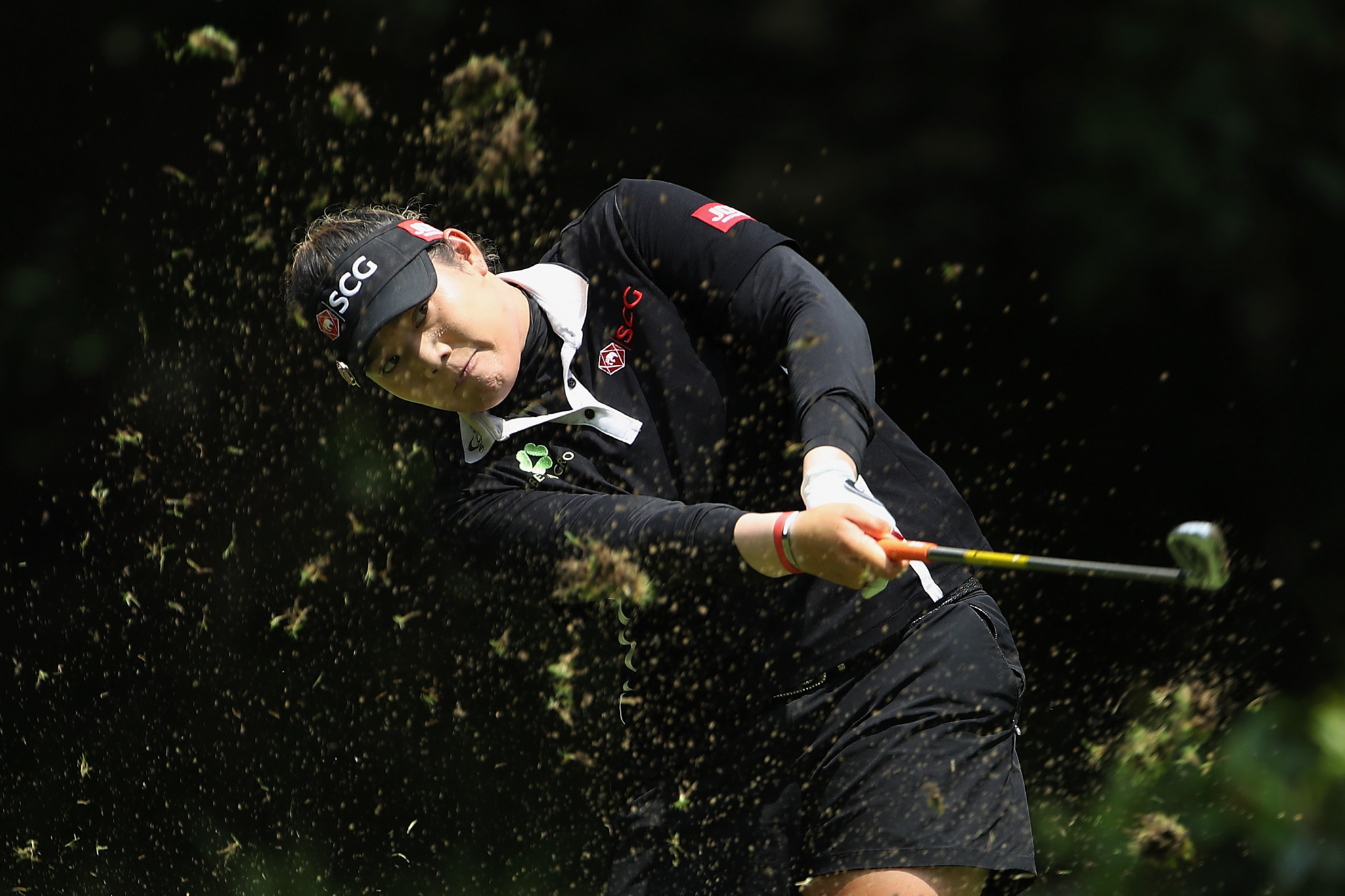 Ariya Jutanugarn emerged triumphant at the US Women's Open despite seeing a seven-shot lead disapper ©Getty Images
