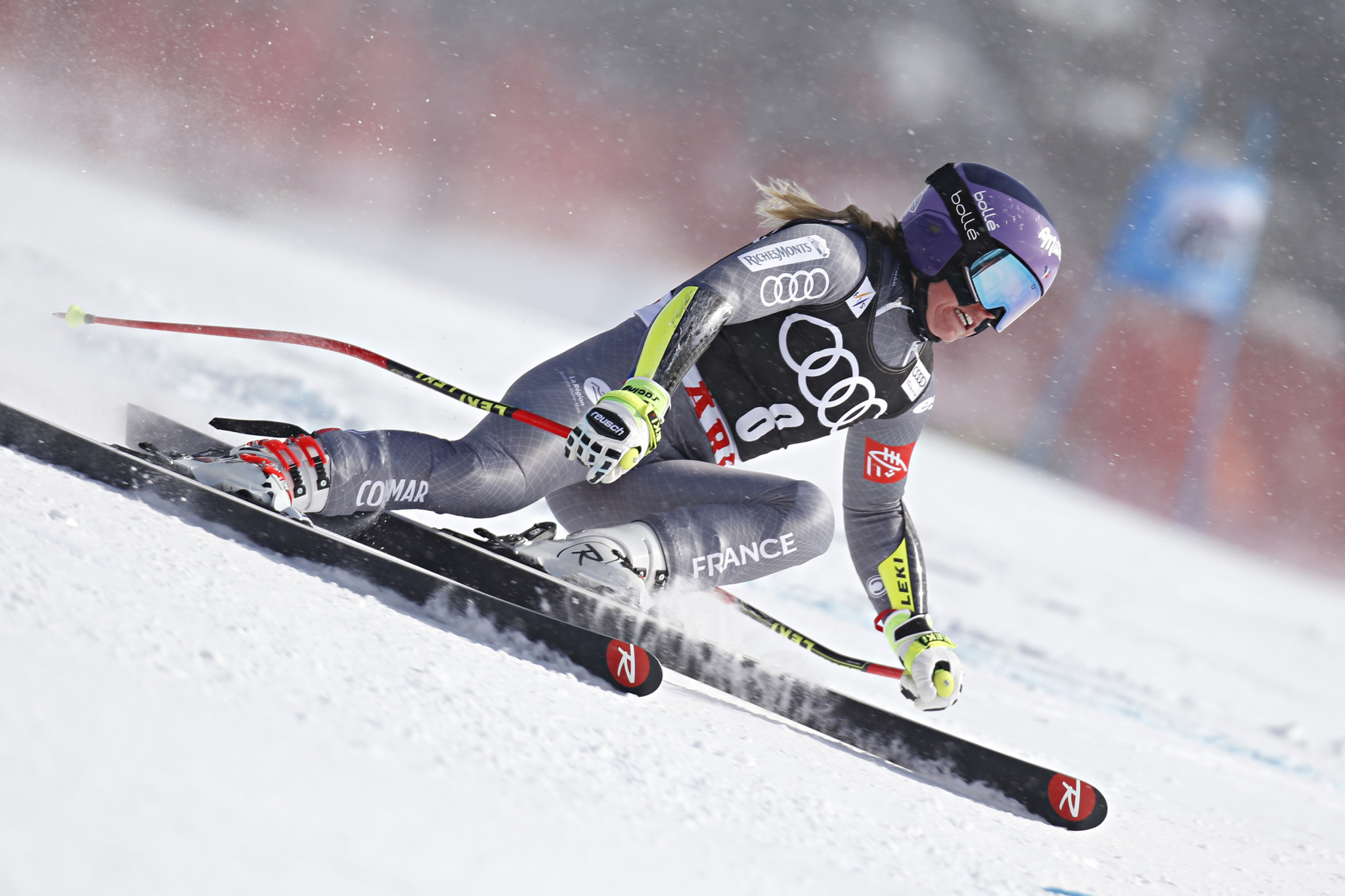 Reigning world giant slalom champion Tessa Worley has been selected on the women's team ©Getty Images