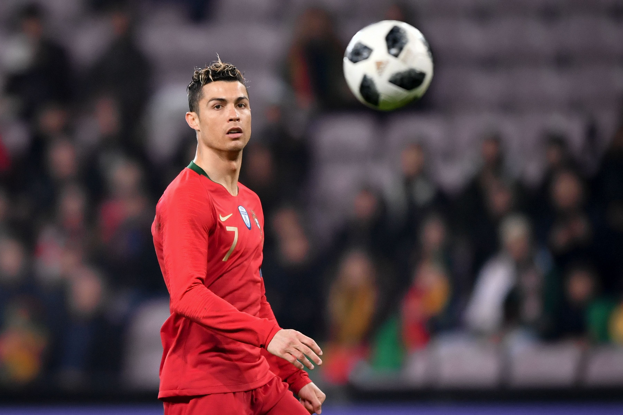 Cristiano Ronaldo will be hoping to receive a second consecutive Best FIFA Men's Player title in London ©Getty Images