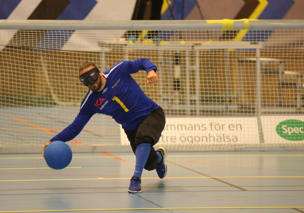 Action continued at the event in Malmo with women's and men's group stage action ©IBSA