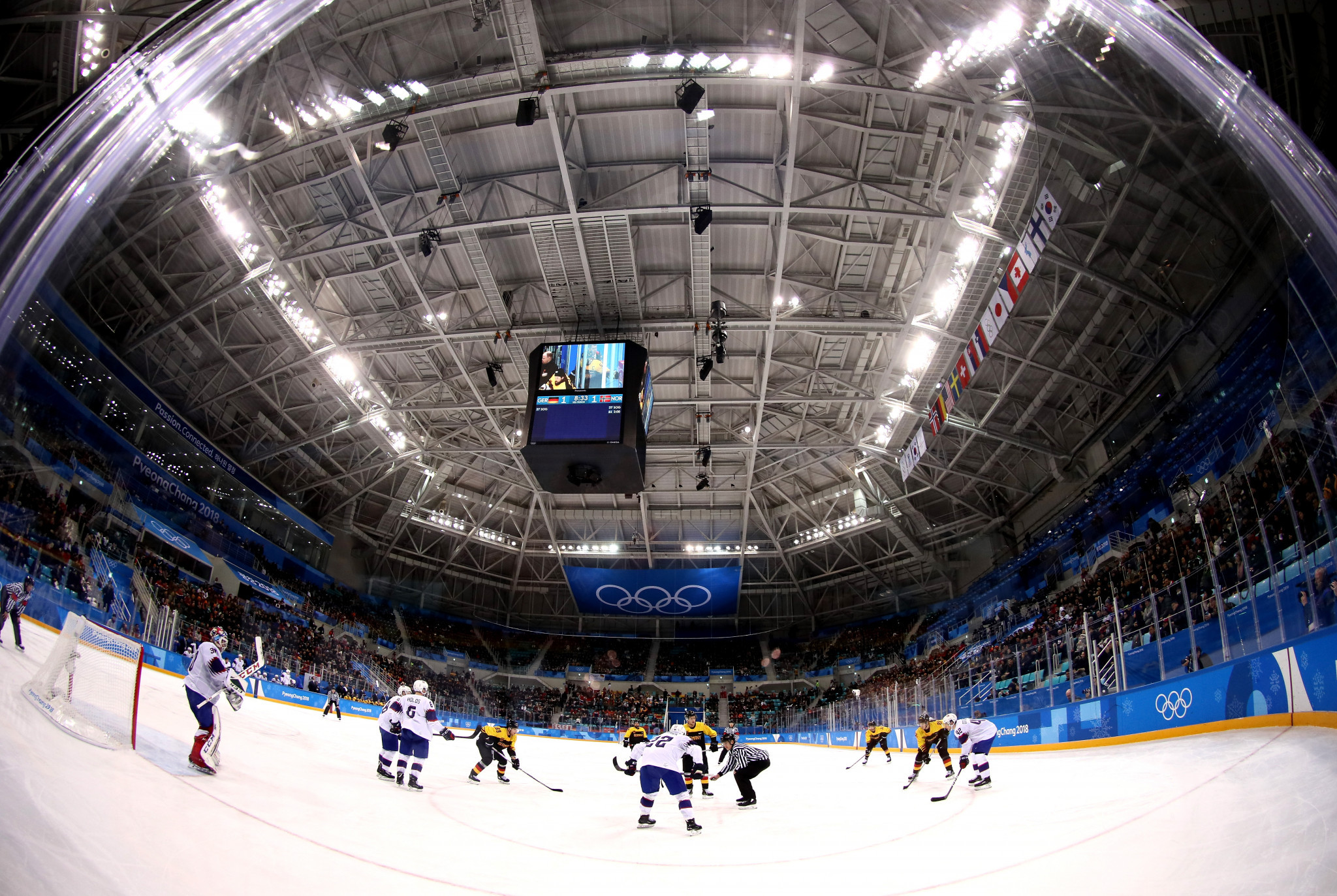 The Gangneung Hockey Centre is one of three Pyeongchang 2018 venues where legacy plans have not been confirmed ©Getty Images