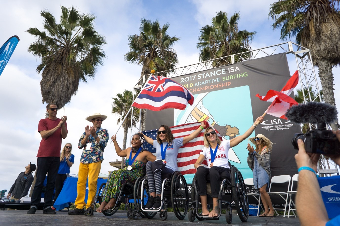La Jolla in California to host ISA World Adaptive Surfing Championship