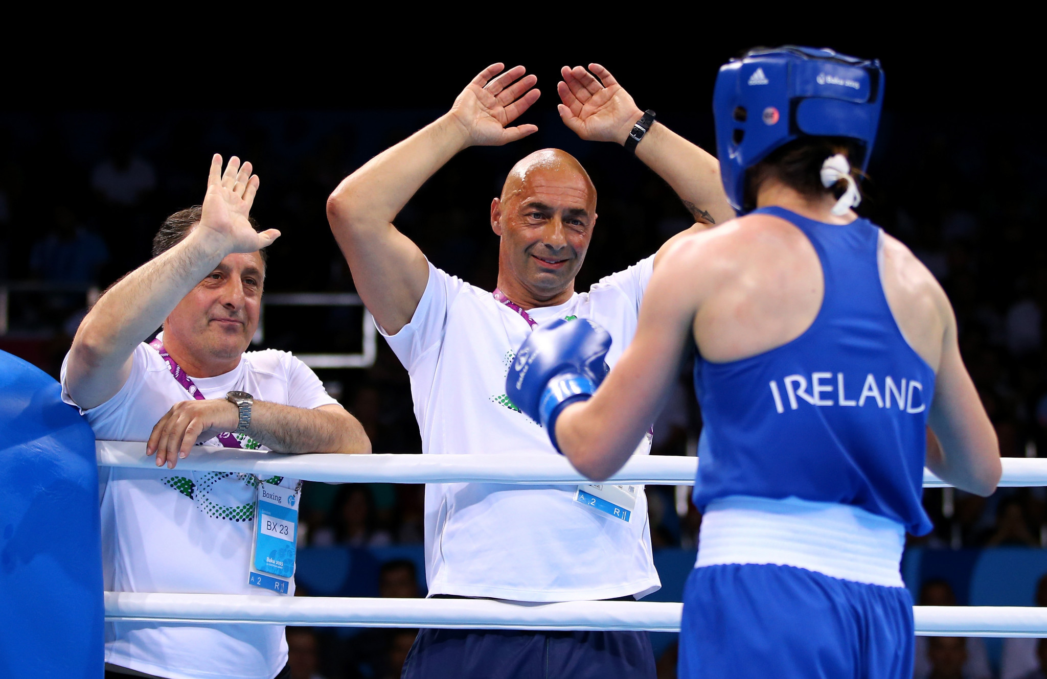 Man shot dead in gym founded by Irish champion boxer Taylor's father