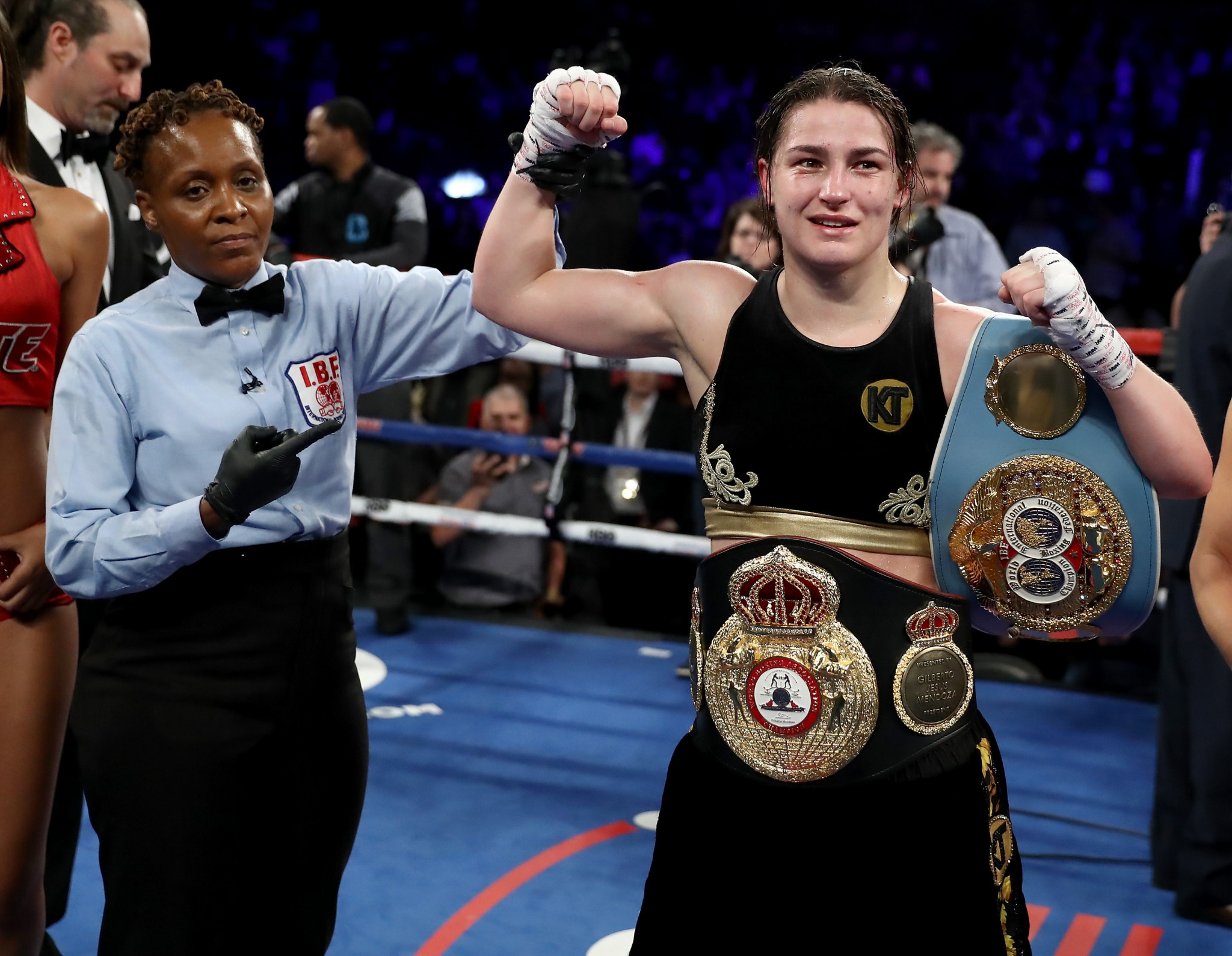 The likes of Katie Taylor have flown the flag for women's boxing ©Getty Images