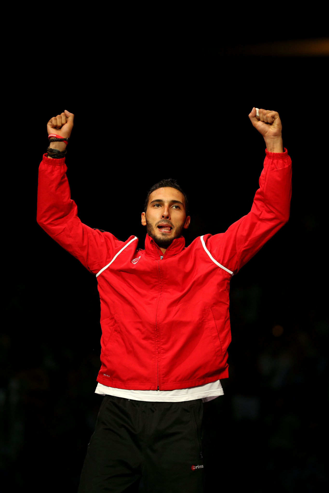 Olympic silver medallist Alaaeldin Abouelkassem also won gold for Egypt ©Getty Images