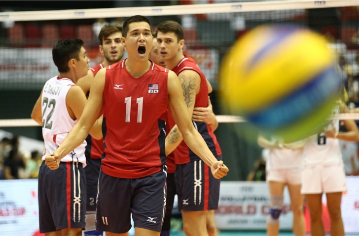 United States sweep aside Italy to maintain perfect start to men's FIVB World Cup