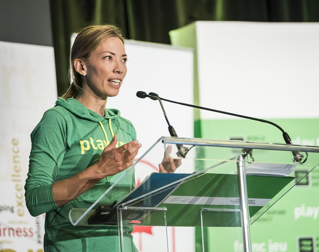 Claudia Bokel claimed World Anti-Doping Agency Athlete Committee chairperson Beckie Scott had been bullied by an IOC member who was later arrested in Rio de Janeiro over calls to ban Russia from the 2016 Olympic Games ©WADA