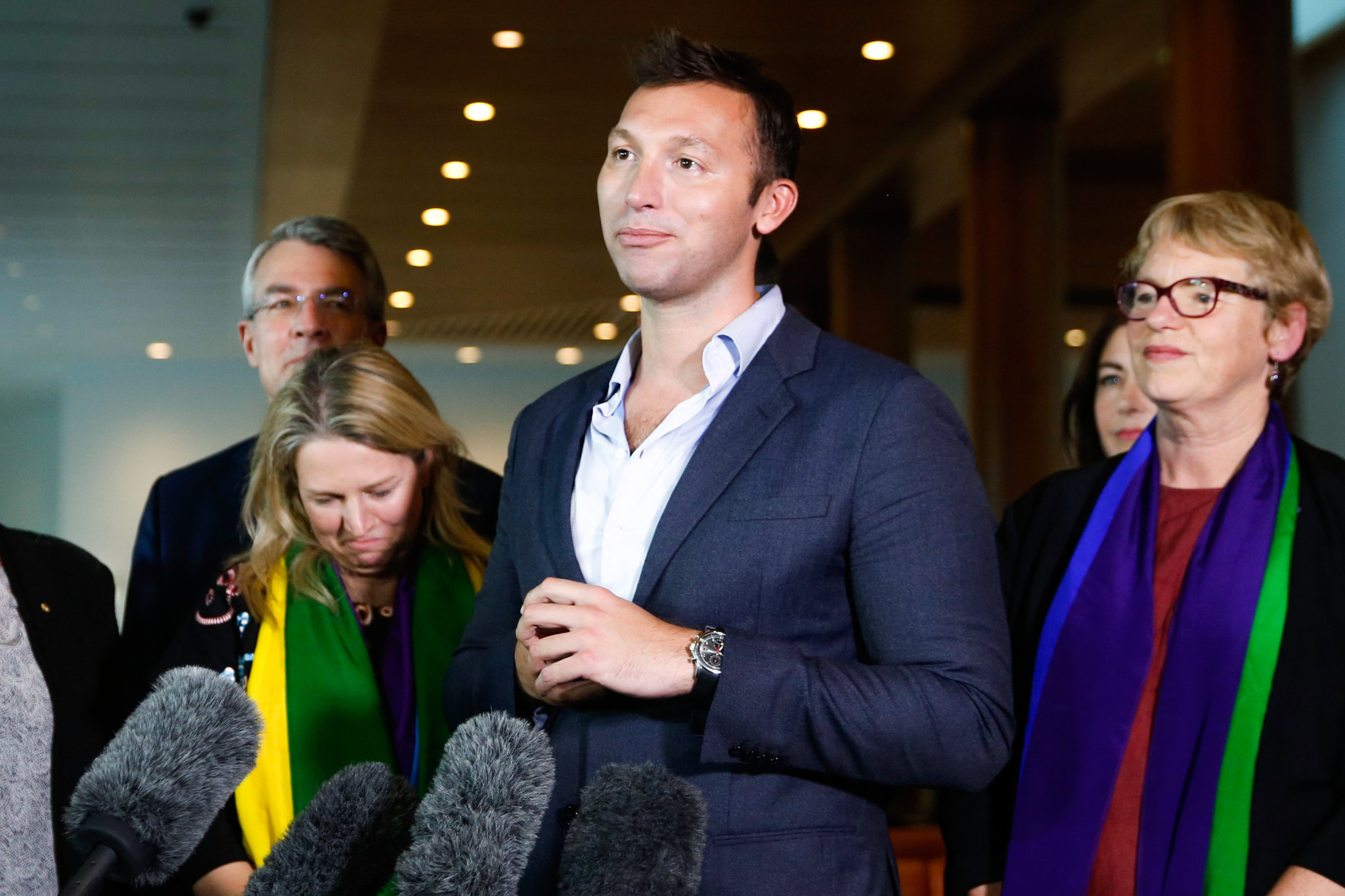 Legendary Australian swimmer Ian Thorpe has called for an end to medal targets ©Getty Images