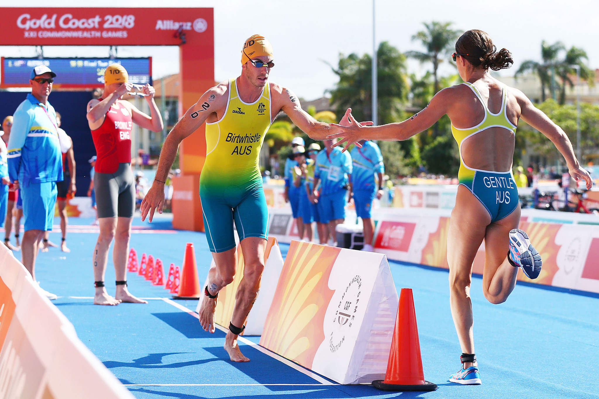 Mixed relay triathlon will debut at the Tokyo 2020 Olympics ©Getty Images