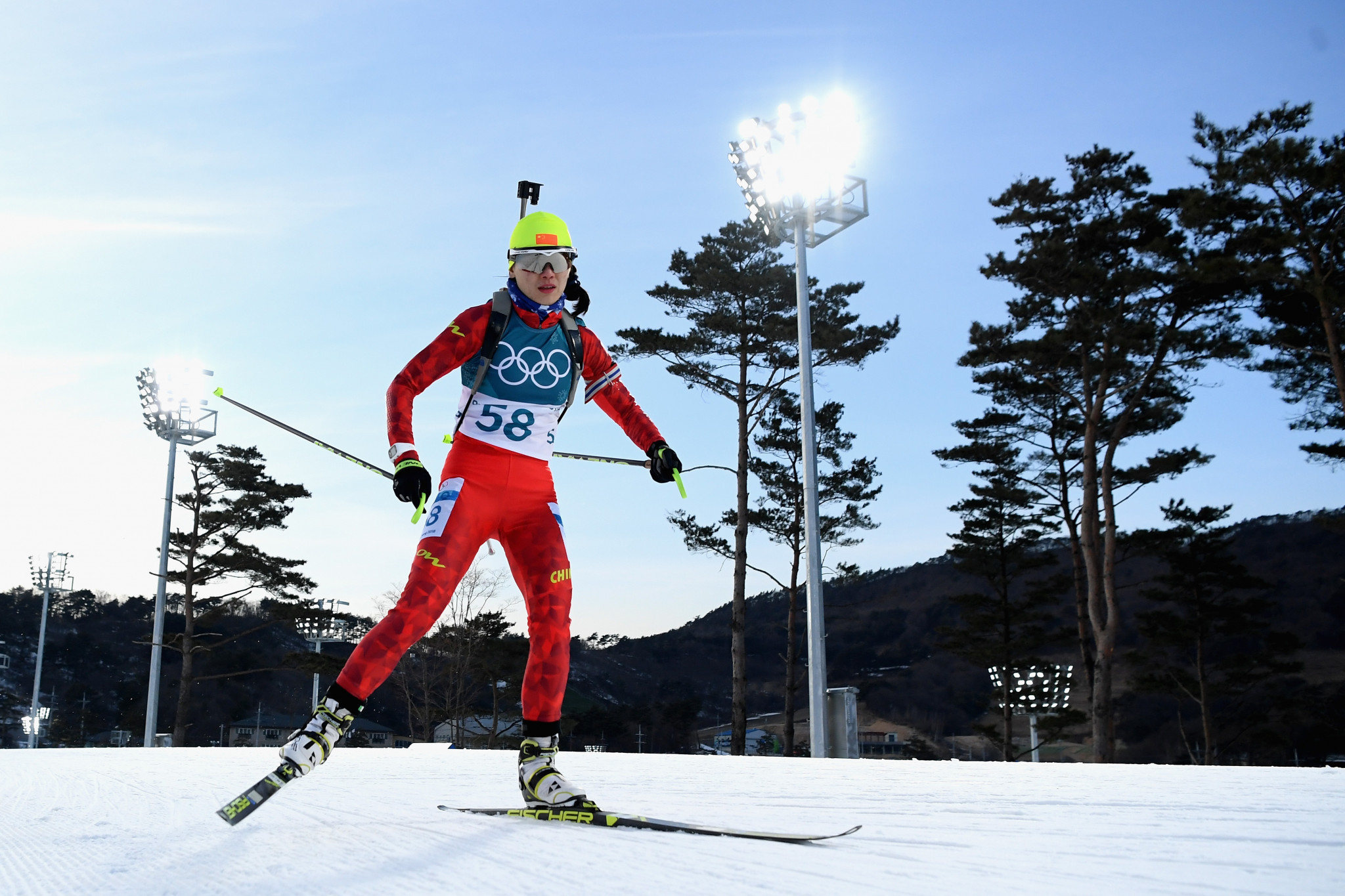 China has little heritage in sports including biathlon  ©Getty Images