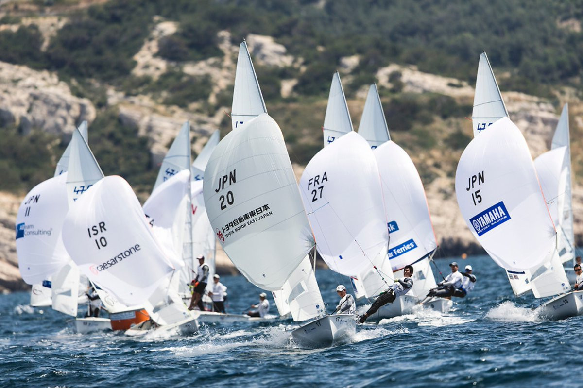 Olympic bronze medallist Le Coq goes top of RS:X leaderboard at Sailing World Cup Final