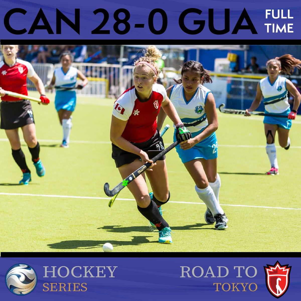 Canadian women begin Hockey Series with massive victory over Guatemala