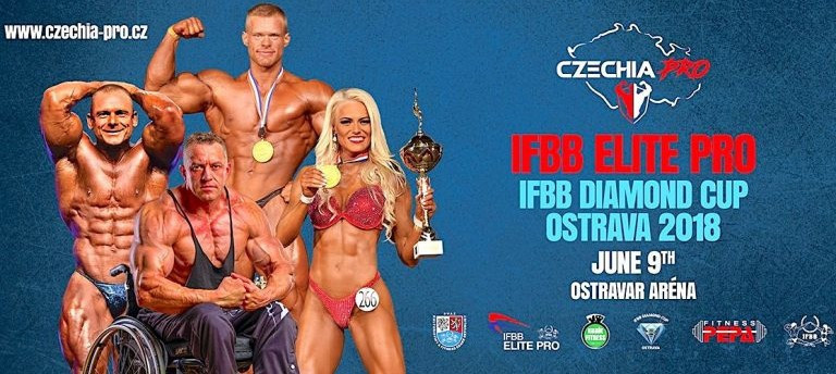 Ostrava is hosting competition in the Czech Republic ©IFBB
