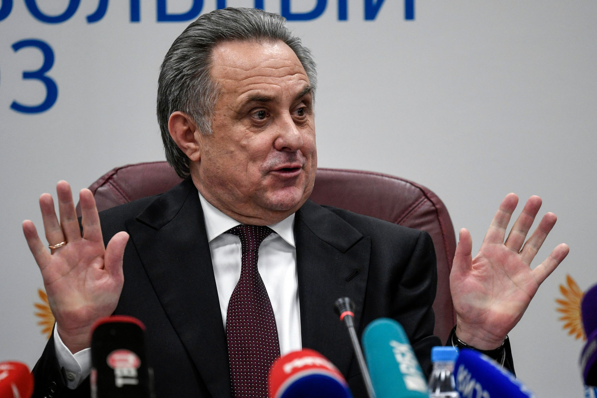 Vitaly Mutko has been defended by Vladimir Putin ©Getty Images