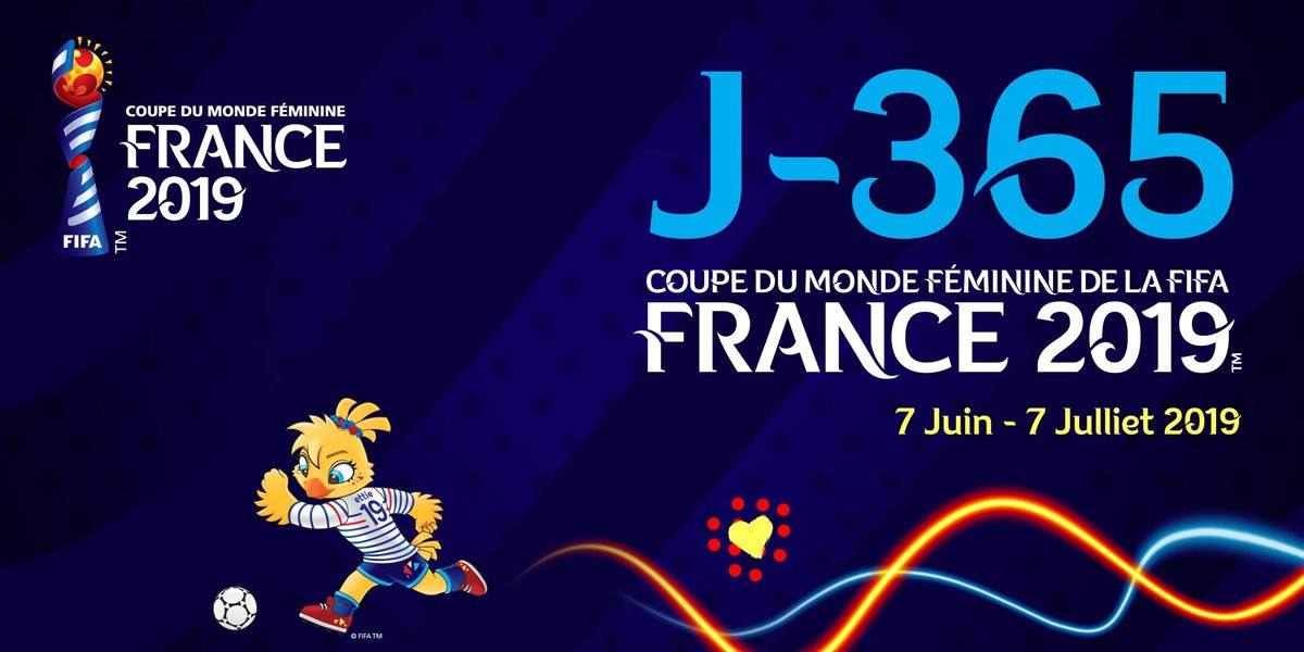 France 2019 are marking one-year until the FIFA Women's World Cup ©France 2019