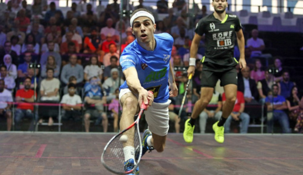 Ali Farag reached the men's semi-finals ©PSA