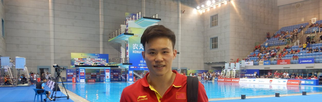 Xie beats Olympic gold and silver medallist to clinch first FINA Diving World Cup title