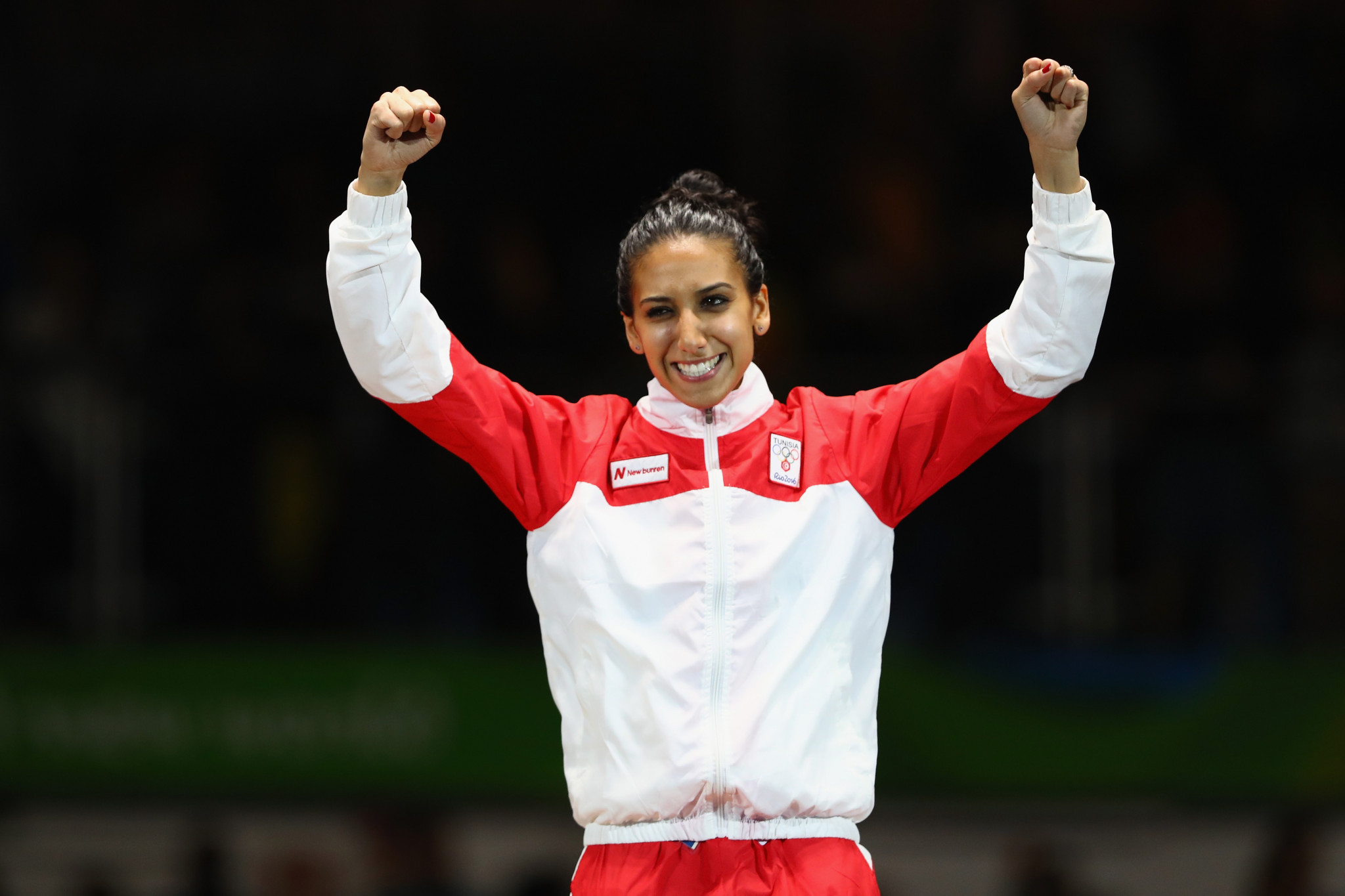 Ines Boubakri won gold for hosts Tunisia today ©Getty Images