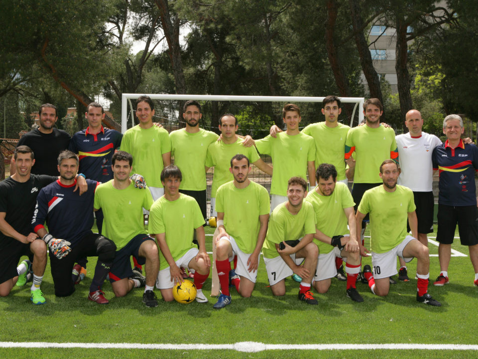Hosts Spain win opening game of IBSA Blind Football World Championships