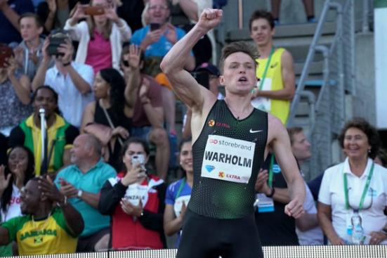 Warholm beaten again by Samba despite home support at Oslo IAAF Diamond League meeting