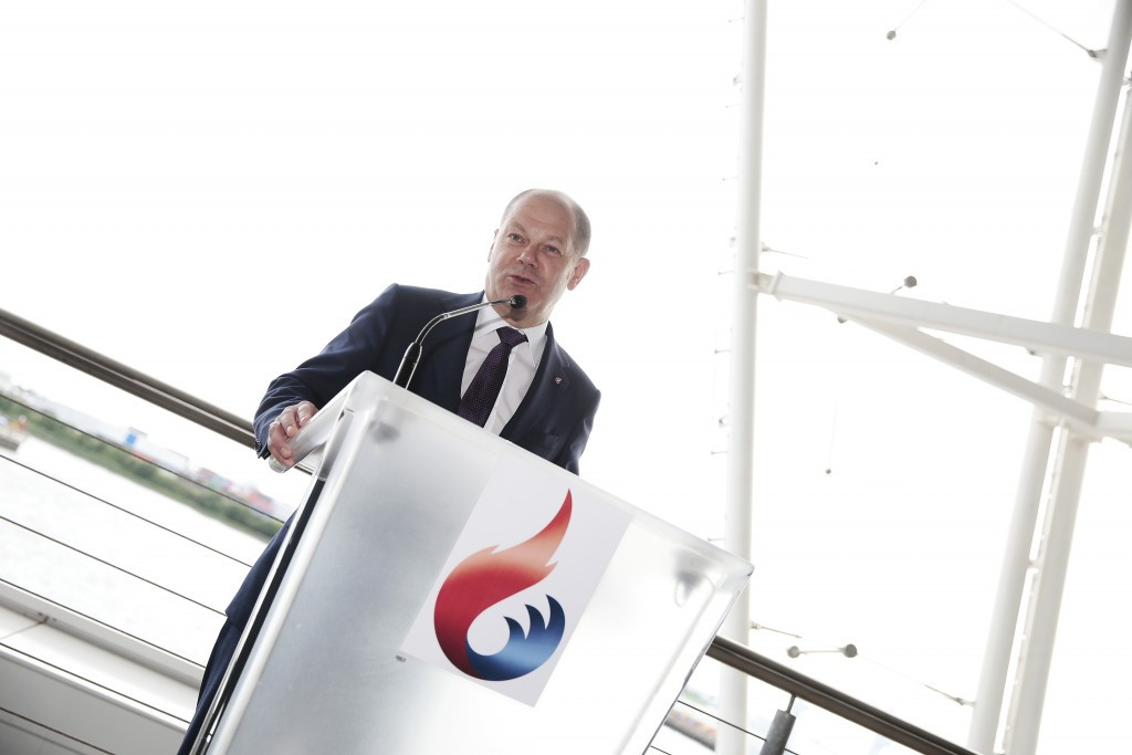 Olaf Scholz is confident of support from Hamburg's residents during a referendum in November