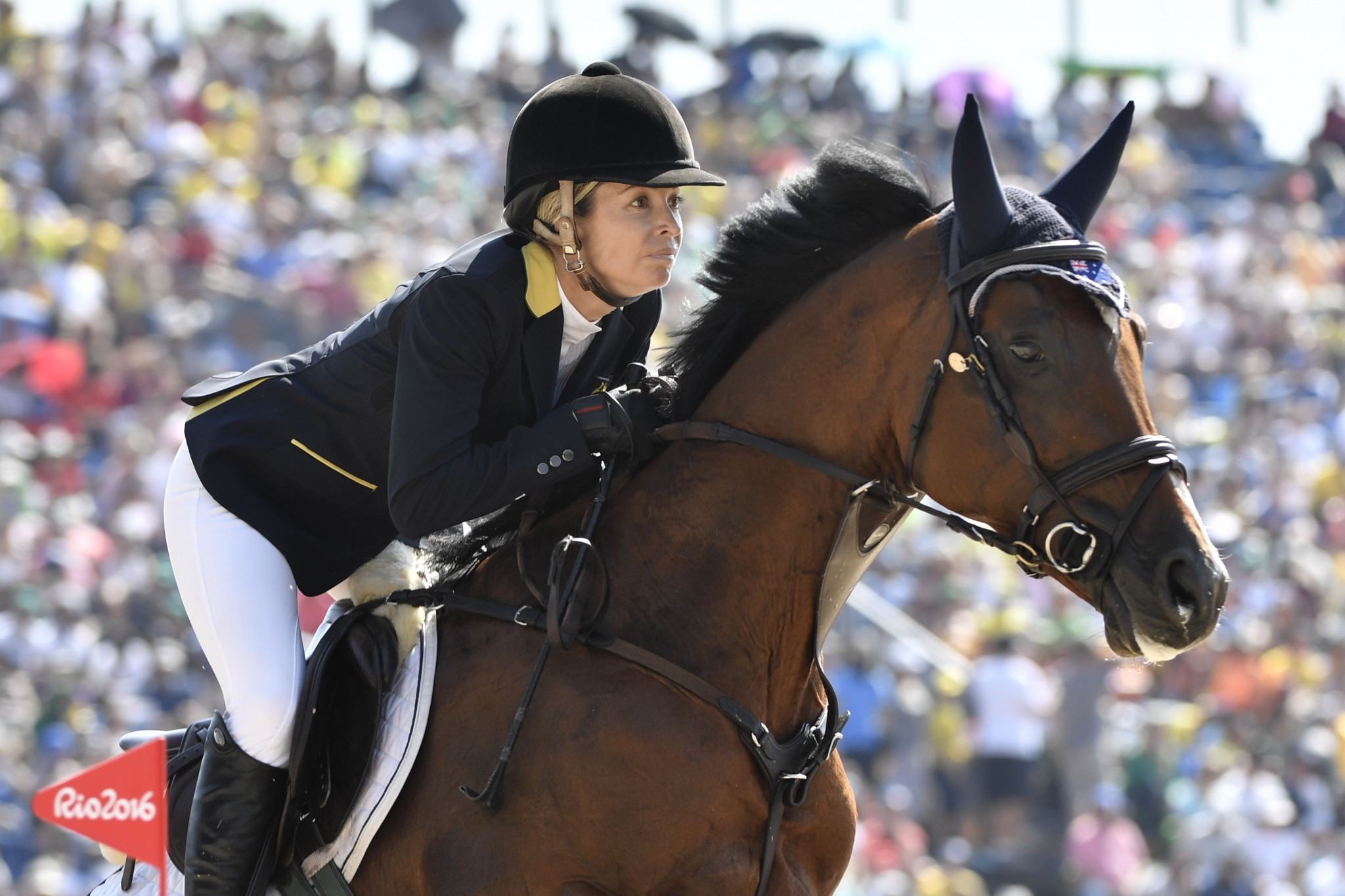 Edwina Tops-Alexander is the current overall leader ©Getty Images