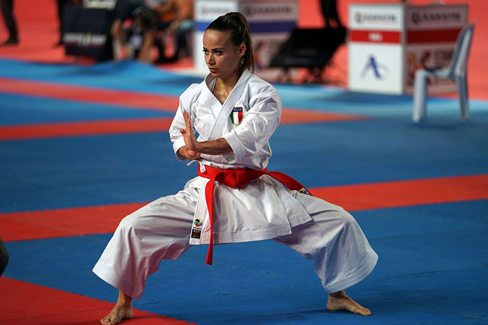 Bottaro shocks Sanchez on opening day of Karate 1-Premier League in Istanbul