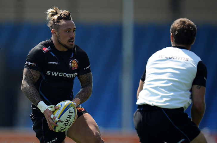 Exeter and England's Jack Nowell features in the first of the films promoting the Spirit of Rugby Award ©Getty Images
