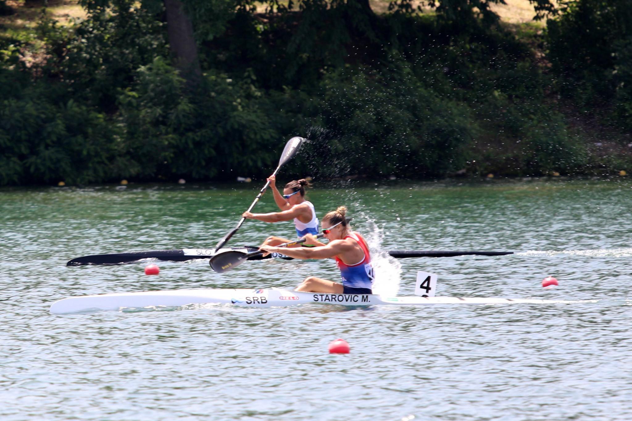 Starović shows speed at home European Canoe Sprint Championships