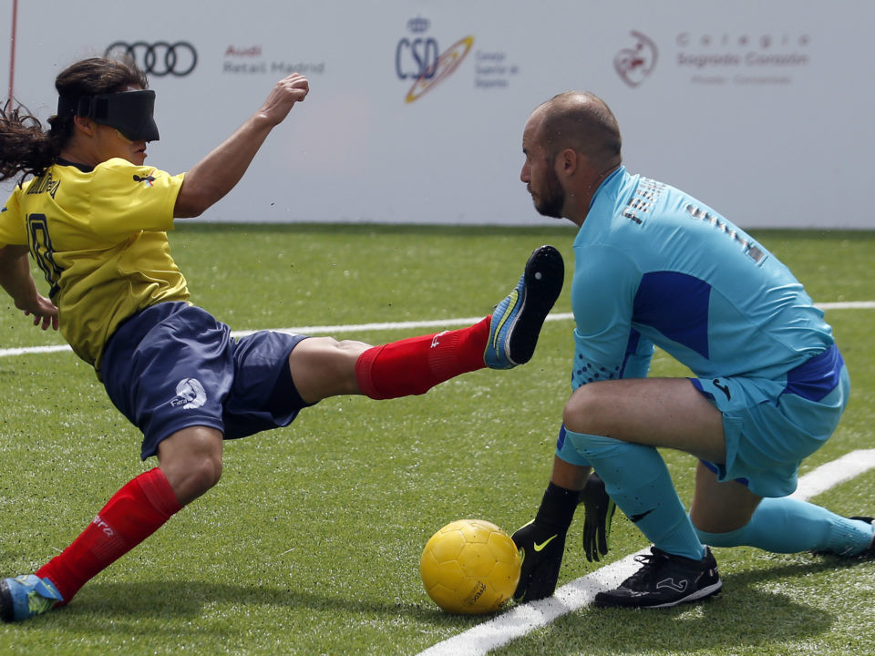Colombia beat France to go top of Group B in Madrid ©IBSA