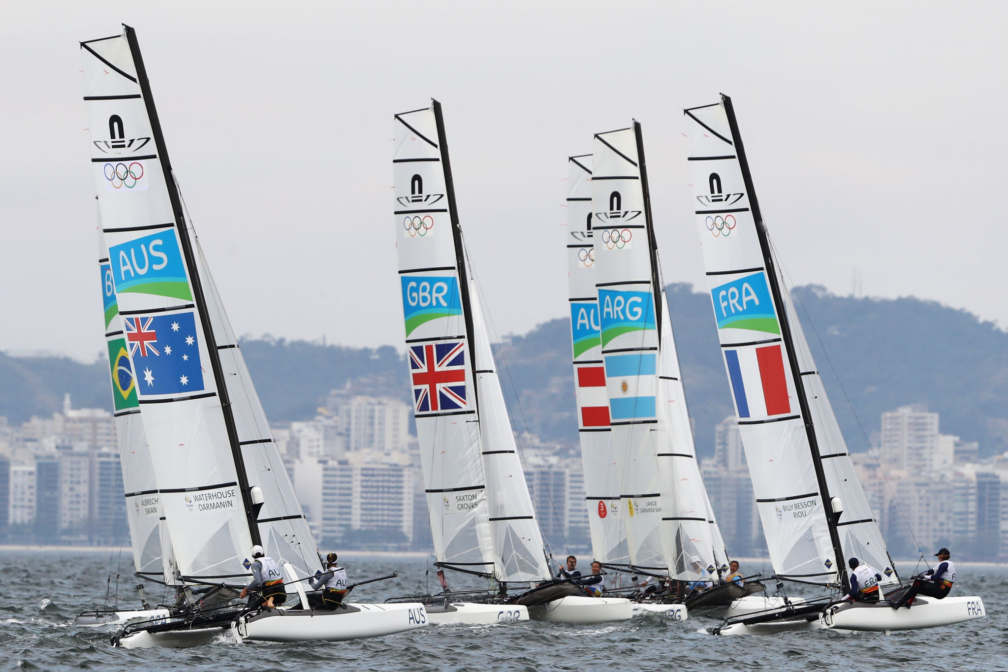 Italy's Tita and Banti dominate Nacra 17 class at Sailing World Cup Final in Marseille