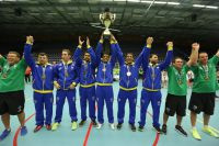 Brazil's men retained their goalball world title in Malmo ©IBSA