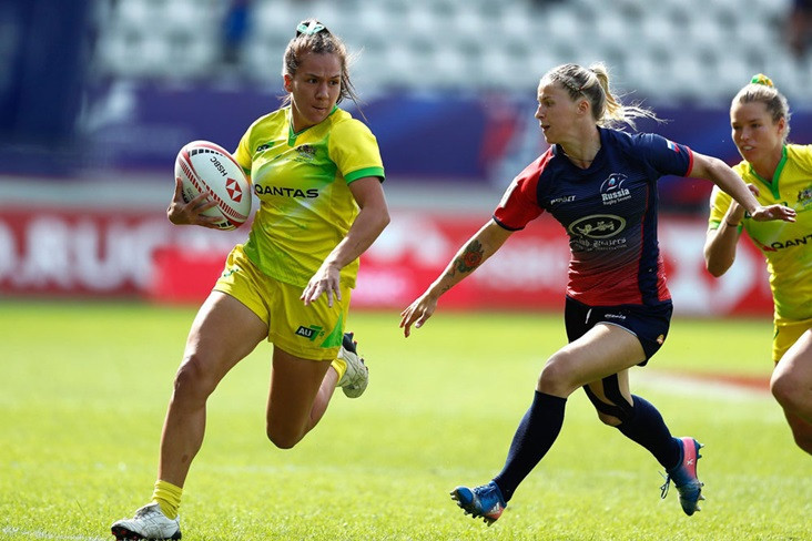 Australia on track to win overall Women's Rugby Sevens Series title in Paris